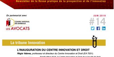 Présentation du CID dans la newsletter de la Revue pratique de la prospective et de l'innovation